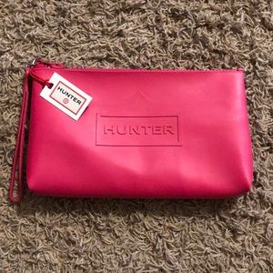 NWT Hunter Pink Large Pouch